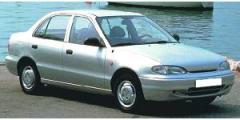 Accent (berline 4+5 portes) de 1994 à 1997