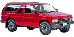 Terrano 1 de 1986 à 1996