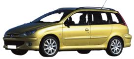 206 SW de 2002 à 2006