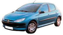 206 de 1998 à 2009