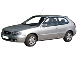 Corolla E11 de 1999 à 2002