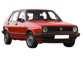 Golf 2 de 1983 à 1991