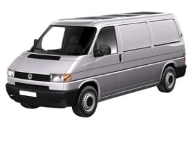 T4 Fourgon-Plateau-Châssis cabine de 1990 à 2003