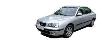 Elantra de 2000 à 2003