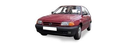 Astra F (3+5portes) de 1991 à 1997