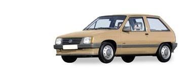 Corsa A de 1983 à 1990