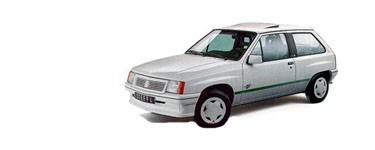 Corsa A de 1990 à 1993