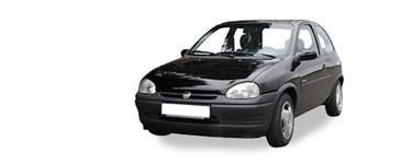 Corsa B de 1993 à 2000