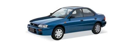 Impreza de 1993 à 2001
