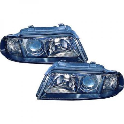 Set de deux phares principaux H7/H7 AUDI A4 de 99 à 1