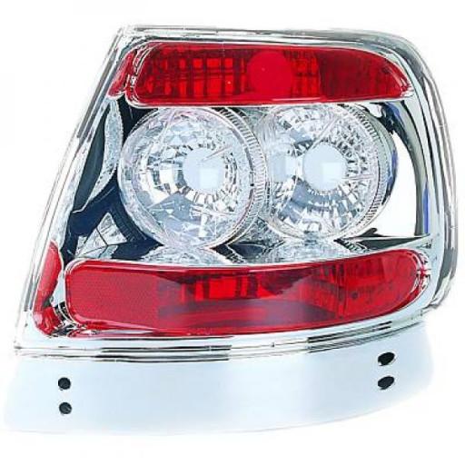Kit de feux arrières chrome AUDI A4 de 94 à 99 - OEM : SK3325ADA495N