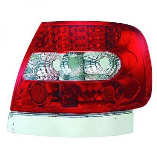 Kit de feux arrières limpide LED AUDI A4 de 94 à 00