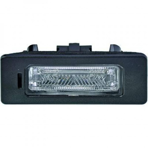 Feu éclaireur de plaque gauche ou droit AUDI A4 de 07 à >> - OEM : 8T0943021