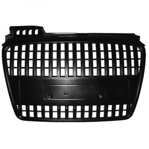 Grille de calandre sans logo noir AUDI A4 de 04 à 07