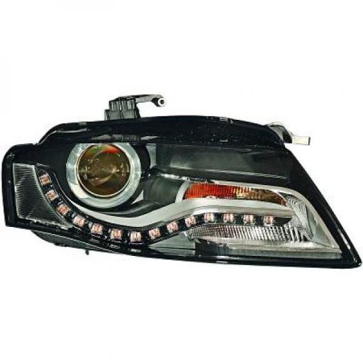 Phare principal gauche D3S/H7 AUDI A4 de 2010 à 11 - OEM : 8K0941029S