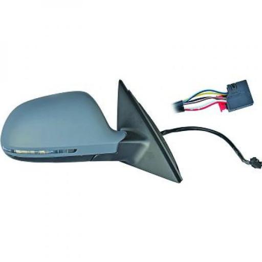 Rétroviseur extérieur droit convexe AUDI A4 de 07 à 09 - OEM : 8T0857528DGRU