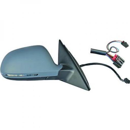 Rétroviseur extérieur gauche convexe AUDI A4 de 09 à 11