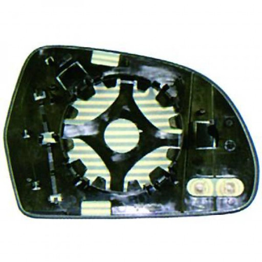 Miroir (asphérique) de rétroviseur coté gauche AUDI A4 de 09 à 11
