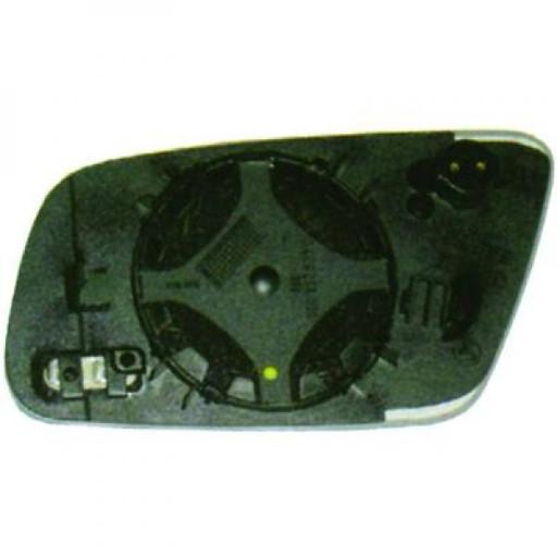 Miroir (convexe) de rétroviseur coté droit AUDI A6 de 99 à 04 - OEM : 8D0857536AT