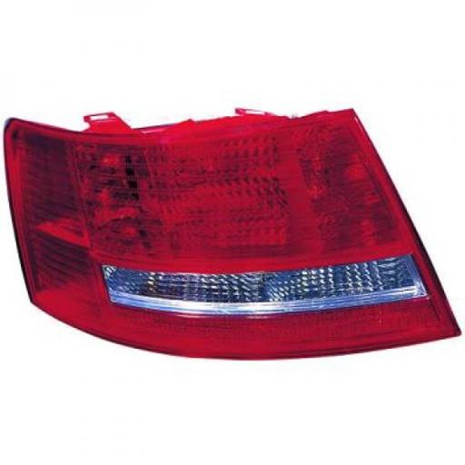 Feu arrière gauche sans porte-lampe AUDI A6 de 04 à 08 - OEM : 4F5945095L