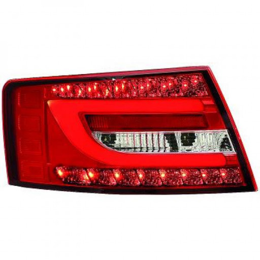 Kit de feux arrières version LED blanc AUDI A6 de 04 à 08