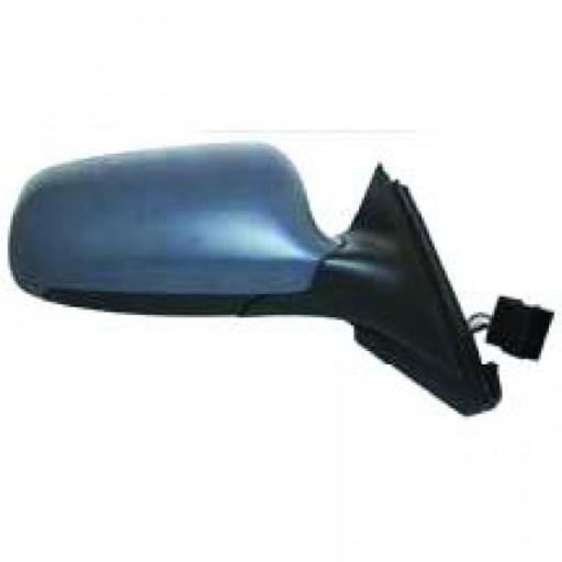 Rétroviseur extérieur gauche teinté en bleu AUDI A3 de 00 à 03 - OEM : 8L1858532HA