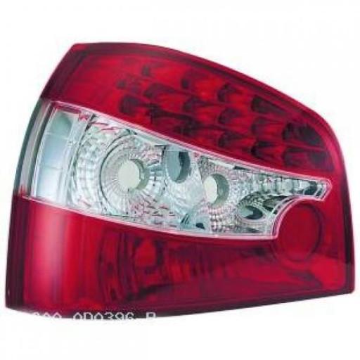 Kit de feux arrières limpide LED AUDI A3 de 96 à 00