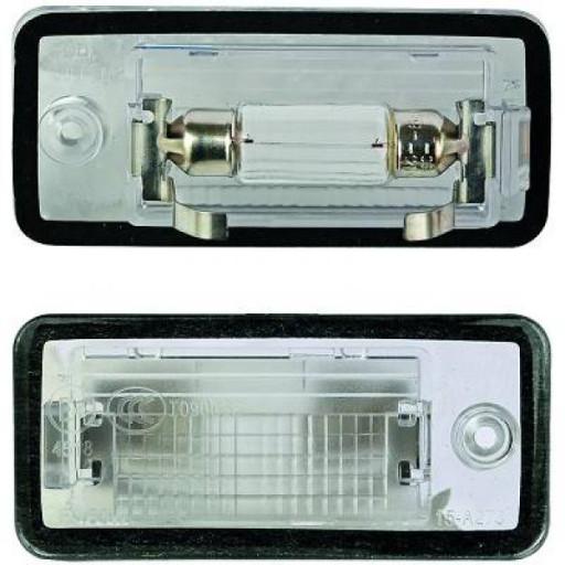 Feu éclaireur de plaque gauche AUDI A3 de 03 à 12
