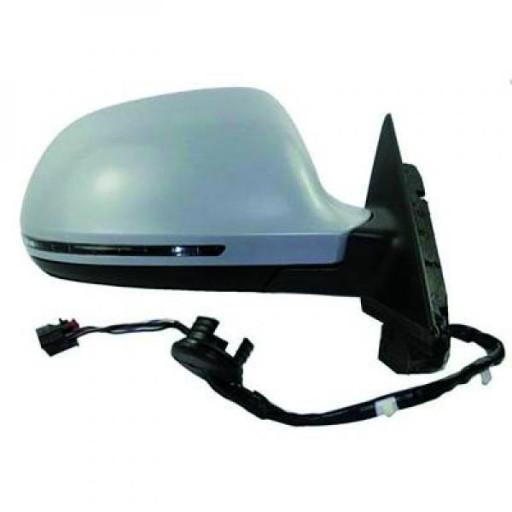 Rétroviseur extérieur droit Réglage électrique AUDI A3 de 08 à 10 - OEM : 8T0857528DGRU