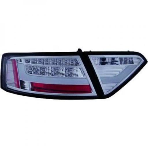 Kit de feux arrières gris fumée feu position LED AUDI A5 de 07 à >>