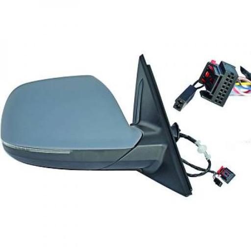 Rétroviseur extérieur droit convexe AUDI Q5 de 08 à 12