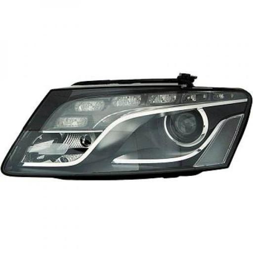 Set de deux phares principaux noir limpide AUDI Q5 de 08 à 12