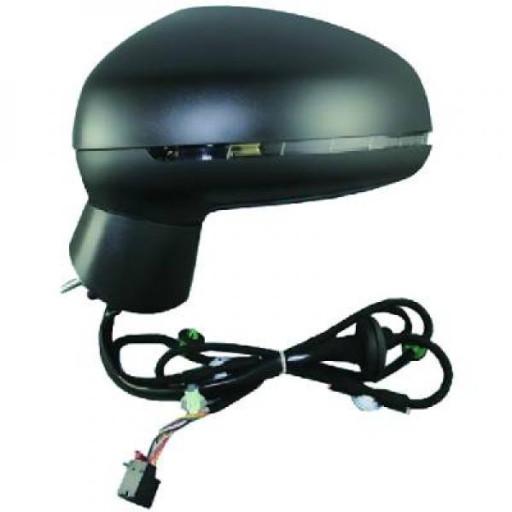 Rétroviseur extérieur gauche asphérique AUDI A1 de 2010 à >> - OEM : 8X1857409K9B9