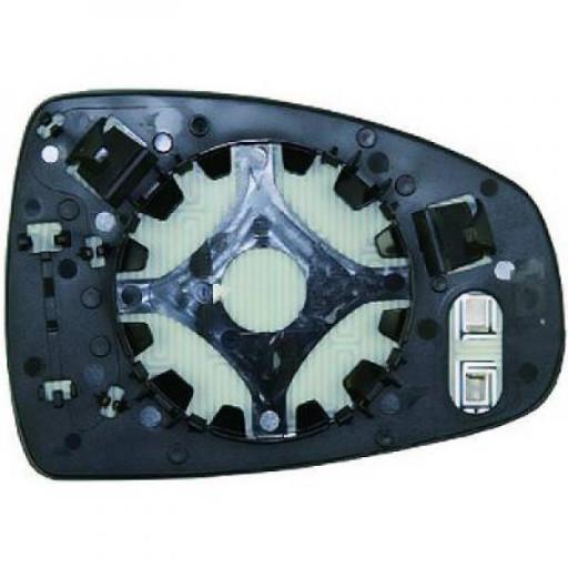 Miroir (asphérique) de rétroviseur coté gauche AUDI A1 de 2010 à >> - OEM : 8X0 857 535 E