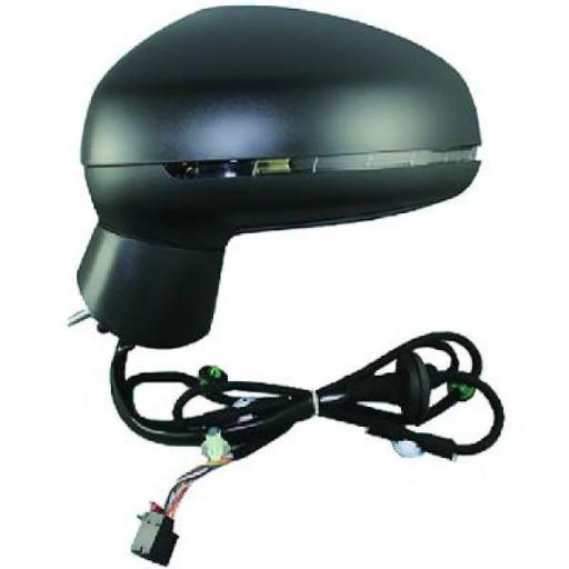 Rétroviseur extérieur droit convexe AUDI A1 de 2010 à >> - OEM : 8X2857410L9B9