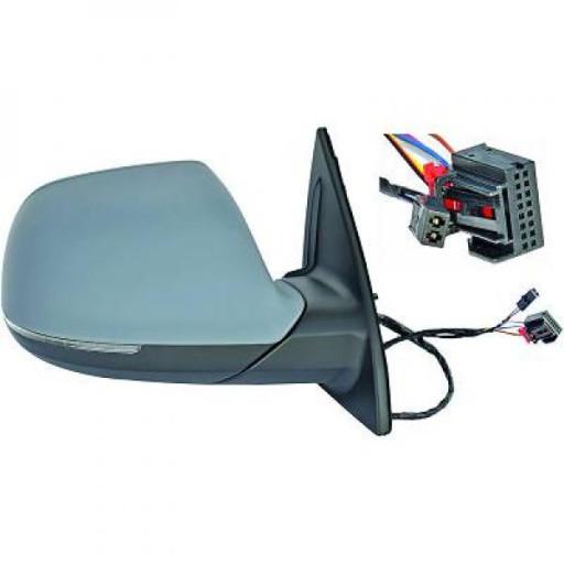 Rétroviseur extérieur gauche asphérique AUDI Q7 de 09 à >> - OEM : 4L1857409AQ01-C