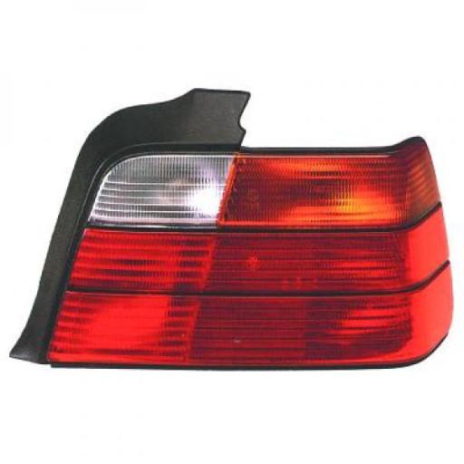 Feu arrière gauche orange BMW Série 3 (E36) de 91 à 97 - OEM : 714000000000