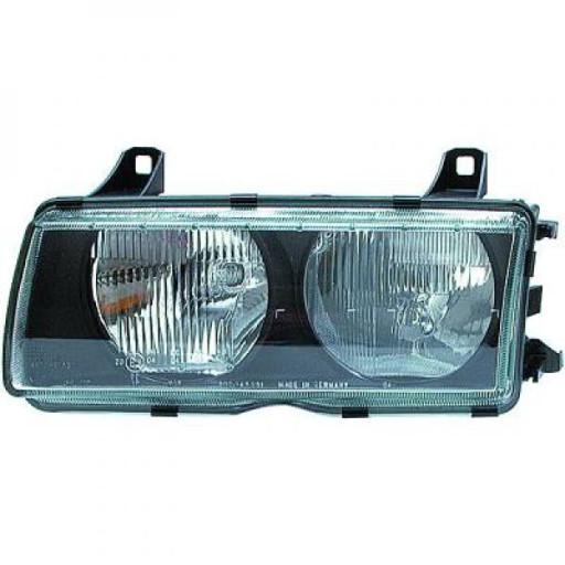 Disperseur simple pour phare gauche Qualité: ZKW BMW Série 3 (E36) de 90 à 94