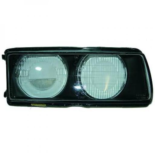 Disperseur simple pour phare droit BMW Série 3 (E36) de 94 à 99 - OEM : 63318363508