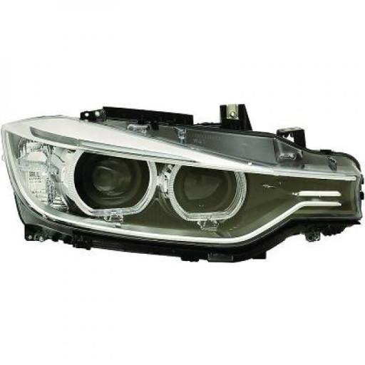 Phare principal droit D1S/H7 BMW Série 3 (F30, F31) de 2011 à 15 - OEM : 63117338702
