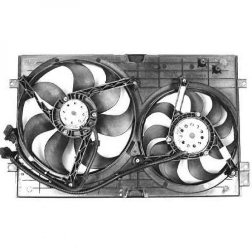 Ventilateur refroidissement du moteur avec climatisation VOLKSWAGEN GOLF 4 de 97 à 03 - OEM : 6X0959455F
