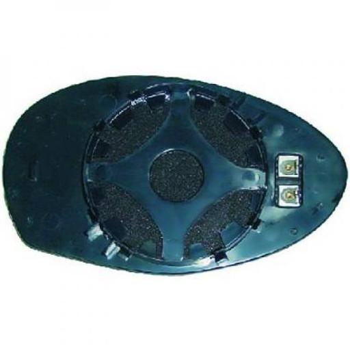 Miroir (asphérique) de rétroviseur coté gauche ALFA ROMEO 147 (937) de 01 à 10 - OEM : 71717906