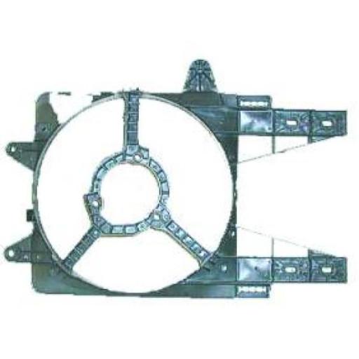 Déflecteur d'air de ventilateur FIAT PUNTO (176) de 93 à 99 - OEM : 7741201