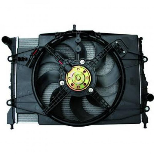 Module de refroidissement avec condensateur