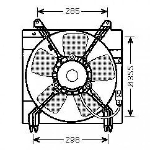 ventilateur refroidissement du moteur de 03  u00e0 06