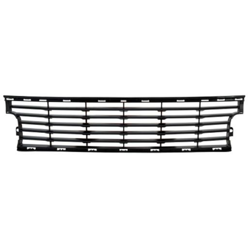 grille centrale pare chocs avant noir renault scenic 01 12 622543518r. Black Bedroom Furniture Sets. Home Design Ideas