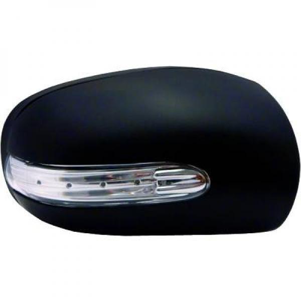coque de r troviseur gauche pour clignotant led mercedes classe c w203 de 01 04. Black Bedroom Furniture Sets. Home Design Ideas