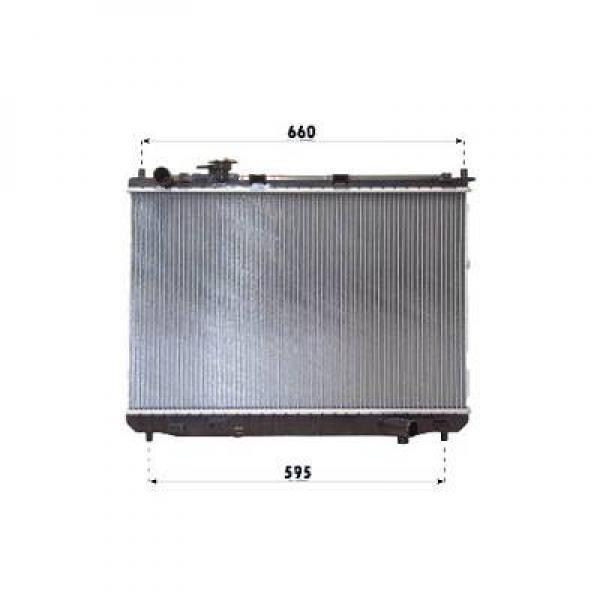 radiateur refroidissement du moteur 430 x 670 de 02 06 oem ok2fa15200a. Black Bedroom Furniture Sets. Home Design Ideas