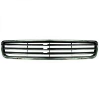 Grille de calandre sans logo chrome/noir AUDI A4 de 94 à 9 - OEM : 6014203485