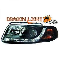 Set de deux phares principaux H1/H1 LED AUDI A4 de 94 à 9